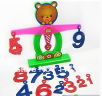 balance practice - Small XiongTianPing scale understand digital practice and develop the mental balance development baby toys ZF172
