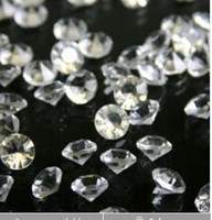 Wholesale 2000 DIAMOND Wedding Table Scatter Crystals Confetti MM each gram contains diamond