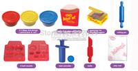 Wholesale Special Offer Polymer Clay Tools Playdough Toys for Many Mould Bundle Super Hamburger d Dough Toy for Over Age Children