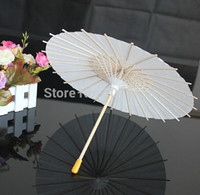 Wholesale White Mini Paper Umbrellas DIY Toy Parasol Umbrella for Children cm Dia