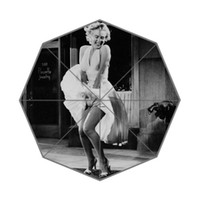 Wholesale New Paraguas Color Coating Confeitaria Kids Marilyn Monroe Three Folding Umbrellas Sunscreen Anti uv And