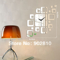 art styles list - listed in stock cm in Modern Creative Art Quartz Roman Number Home Decorative Mirror Wall Clock