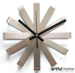 Wholesale A018 wall clock Knife Fashion wall clock Ferris wheel Originality clock Windmill The wall Decoration quartz