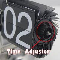 balance homes - pc High Quality Auto Flip Clock amp Retro Creative Balance Desk Clock For Home Decorative Gift
