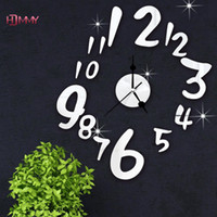 antiques direct - Direct Selling New Arrival Quartz Good Quality Number Clock Wall Clocks Mirror Clock d Crystal Watches Michael Clock