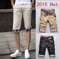 bermuda jeans shorts - Hot Sale Summer Colorful Mens Jeans Shorts Knee Length Shorts For Men Casual Beach Shorts Bermuda Masculina Large Size XL