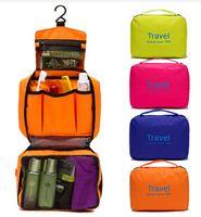 Wholesale NEW Waterproof Cosmetic Bag Travelling Wash Bag Toiletry hanging Kit Men amp Women Travel Bag Handbag Travel kit