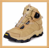 Wholesale ESDY Military Outdoor Rapid Reaction BOA lacing system light damping sporting Boots Tactical climbing shoes Tan Hot Sale