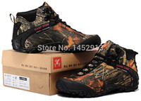 Wholesale Orignal brand lovers fashion breathable camo outdoor hiking boots plus size high top waterproof forest desert hiking shoes
