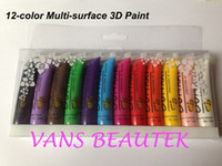 acrylic paint surfaces - Color Nail Art D Drawing Paint Tube Acrylic Nail Polish Decorations Multi surface Paint