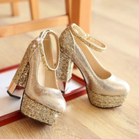 Wholesale Colors ladies Fashion Mixed Colors high heel party Pumps sexy Flatforms shoes for women Plus Size
