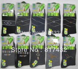 Wholesale pairs manufacturer selling men s fashion bamboo charcoal fiber cotton socks long barrel business leisure warm socks