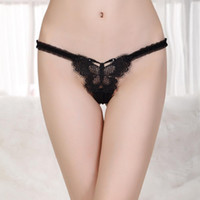 nylon panties - G string Panties Offer Nylon Explosion Models Female Sexy Underwear Transparent Mesh Drill Embroidered T Pants Thongs B047