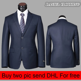 Wholesale-(Jackets+Pants) high quality Daniel Clothing Brand New Fashion Men Suits Single Breasted Regular Wedding dress Top Selling