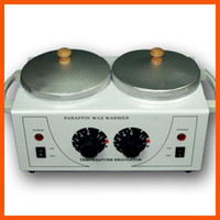 Wholesale HOT WAX HEATER WARMER DOUBLE POT SALON FACIAL SKIN CARE
