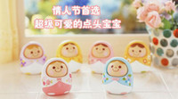 Wholesale China Post Air Novelty Game Mini Unazukin Nod doll toy Baby Interactive doll dolls toy