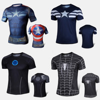 under-armour - TOP sale Mens Boys Compression Armour Base Layer Short Sleeve Thermal Under Top Tee Shirt New Sports T shirt Fitness Tights