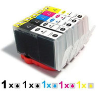 Wholesale 5 ink cartridge for HP XL B8553 B209 C309a B8550 B8558 B8500 C5324 hp364 hp364XL HP564 HP364