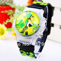 ben 10 - New Ben Luminous Children Watch Digital Boys Wrist Watch Colors JK