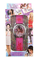 Children's best d batteries - high quality have in stock Violetta Children Watch With Box Cheap Kids Watches best XMAS gift