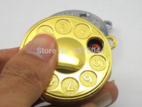 Wholesale Telephone USB lighter pocket watch type rechargeable metal electronic cigarette lighter personality creative gift