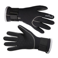 Wholesale 2015 New mm Neoprene Diving Gloves High Quality Gloves For Swimming Keep Warm Swimming Diving Equipment