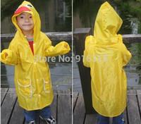 Wholesale Colors Funny Raincoats Children Rainwear Kids Raincoats lindalinda Cartoon Raincoat