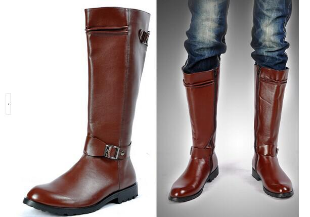 Wholesale The New Trend Of Men'S Tall Boots Simple And Elegant ...