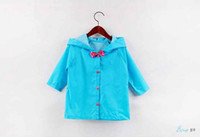 baby lightweight jacket - RainCoat baby jacket fashion rain coat kids travel jacket lightweight child rain for Girl Freeshipping