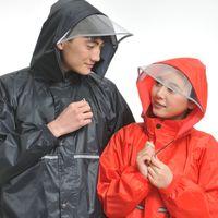 Wholesale Electric motorcycle riding adult raincoat fashion for men and women split rain coat raincoats rain pants suit rain jacket