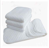 Wholesale Baby Modern Coth Diaper New Reusable And Easy Use Soft And Breathable Nappy Liners Inserts Layers Hot Sale