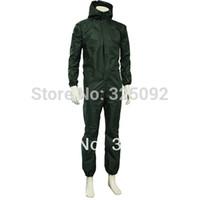 Wholesale Protective clothing one piece waterproof jumpsuit waterproof work wear raincoat