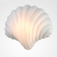 Wholesale Modern brief shell wall lamp Bedside light mirror lamps WL003