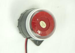 Wholesale electric siren horn alarm horn intrusion siren burglar alarm horn mini burglar speaker alarm system baluster warning device