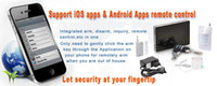 android apps security - Newest iOS APPS amp Android APPS Home security GSM alarm system with fashion style
