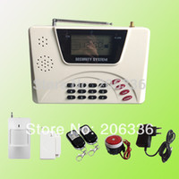 antenna manual - New Two Antenna LCD GSM amp PSTN security home alarm system Mhz Russia manual support