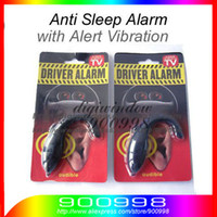 Wholesale HOT Sound Alert Anti Sleep Alarm For Drivers Security Guards