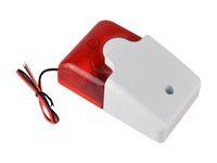 ad alarms - Mini Strobe Siren V Security Alarm Siren Wired Flash amp Sound Alarm AD Satcus