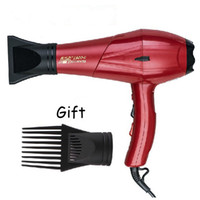 ac motor sell - NEW Professional Hair Dryer Big Power W Best Selling Dryer With AC Motor Over heating Black Red Color EU US UK Adapter Plug