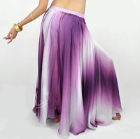 Cheap Tribal pretty Belly Dance wear costume dancing skirt dress Dancewear party silk purple