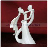 ceramic figurines - Bride amp Groom Ceramic Figurine Wedding Cake Topper for Wedding Decoration Party Ceremony Supplies