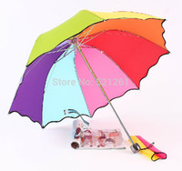 Wholesale High Quality Mostly Rainbow Umbrella