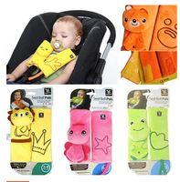 Wholesale BenBat Travel Seat Belt Pal baby car safety belt protective Head and Neck Support child pillow Shoulder Strap Pads Seat Belt