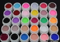 Wholesale Pure Colors Uv gel Set Builder Gel for nail art gel set nail polish kit