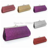 Wholesale Glitter Handbag Wedding Bridal Evening Party Clutch Chain Purse Wallet Bags Women Gift Shoulder Bag