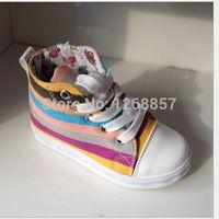 Wholesale Kids Sandals Children Girl Shoes Sapato Infantil Menina Autumn Children Shoes Women Korean High top Colorful