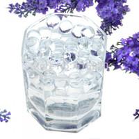 ball gram - grams clear Crystal Soil Mud Water bio gel Bead Plant jelly hydrogel vase flower arrangements Balls Wedding home Decor