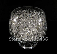 absorbent polymer balls - high clear colorfast absorbent polymer crystal water beads gel pearl wall ball filler for vase centerpiece