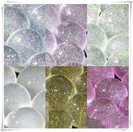 Wholesale Glitter Water Aqua Crystal Beads Soil Bio Gel Beads Wedding Vase CentrePiece
