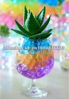 Wholesale X g bag Crystal Soil Water Beads flower Water Crystal Pearl Gel Balls Soil Mud Ten color
